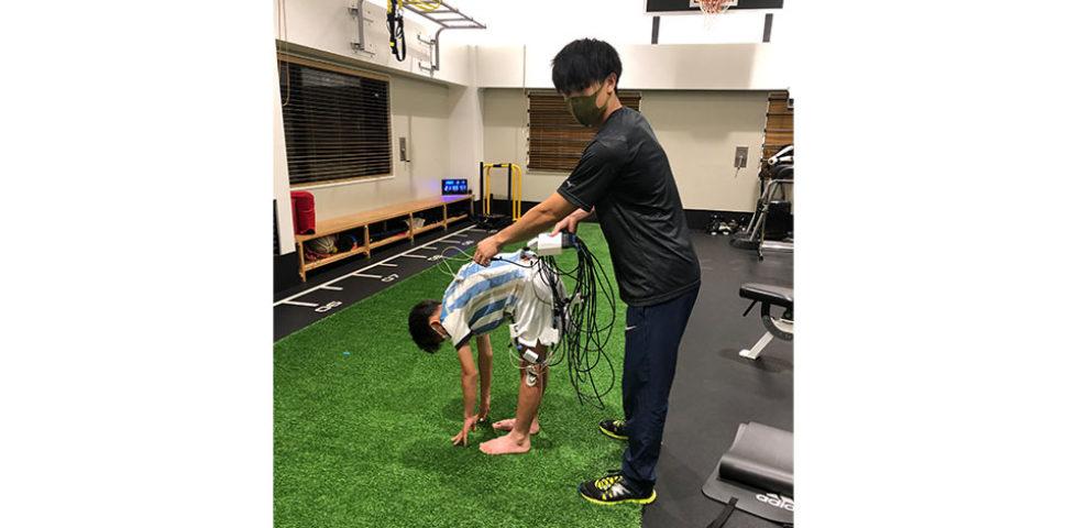 前屈運動における下肢・腰部伸筋群の脱力プログラム
